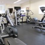 Parent and Caregiver workout area